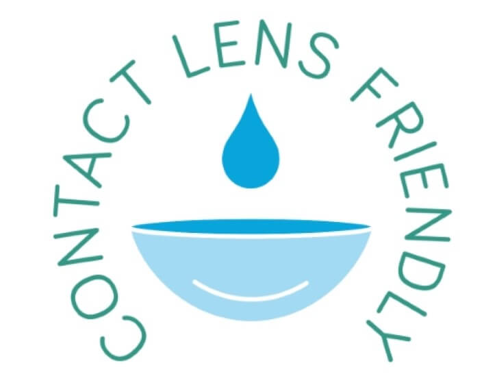 Contact lens friendly